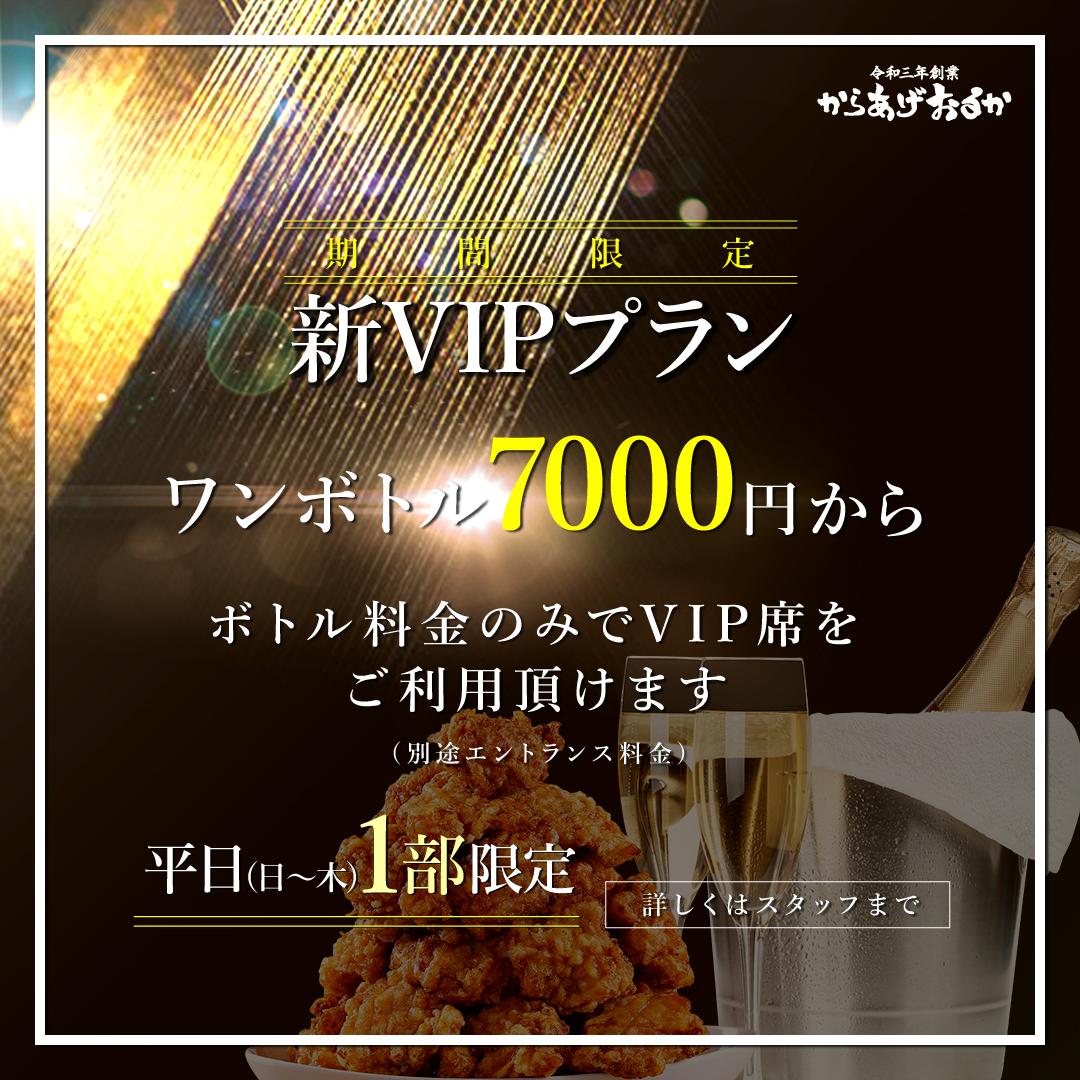 新VIPプラン