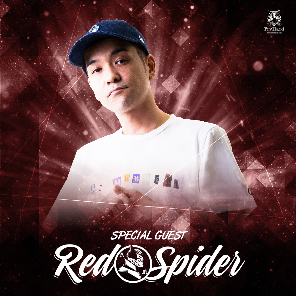 SPECIAL GUEST : RED SPIDER